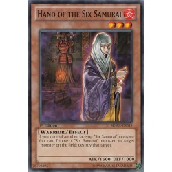 Hand of the Six Samurai - SDWA-EN015