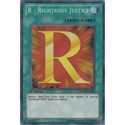 R - Righteous Justice - DP03-EN018