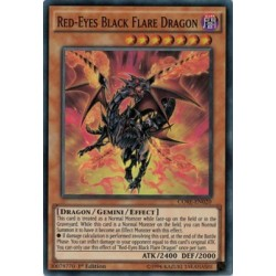 Red-Eyes Black Flare Dragon - CORE-EN020
