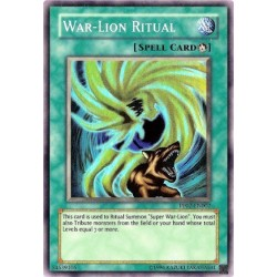 War-Lion Ritual - PP02-EN002 - Secret Rare