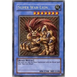 Super War-Lion - PP02-EN001 - Super Rare
