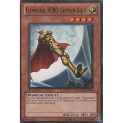 Elemental HERO Captain Gold - FOTB-EN014