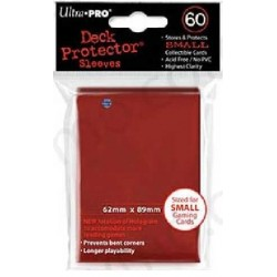 Sleeves Ultra Pro Small Size 60ct (red)
