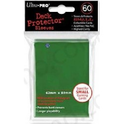 Sleeves Ultra Pro Small Size 60ct (green)