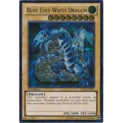 Blue-Eyes White Dragon - YSKR-EN001 - Ultimate