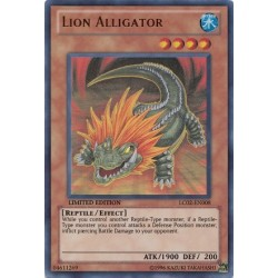 Lion Alligator - LC02-EN008