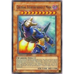 Colossal Fighter/Assault Mode - CRMS-EN000 - Secret Rare