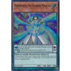 Performapal Five-Rainbow Magician - BLLR-EN005
