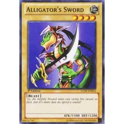 Alligator's Sword - TU08-EN006