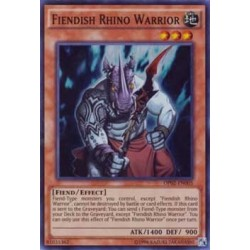 Fiendish Rhino Warrior - OP02-EN005