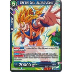 SS3 Son Goku, Maximum Energy - SD1-03