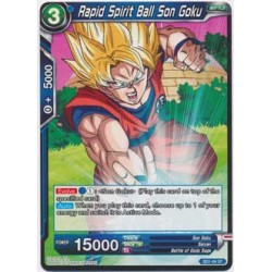 Rapid Spirit Ball Son Goku - SD1-04