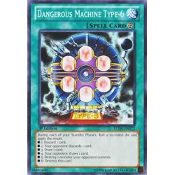 Dangerous Machine Type-6 (Blue) - DL12-EN016