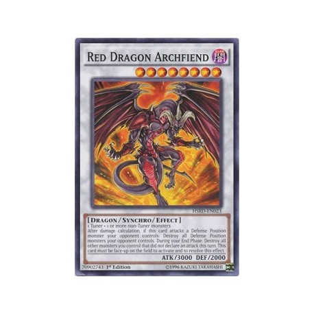 Red Dragon Archfiend - HSRD-EN023 - Usada