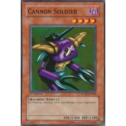 Cannon Soldier - SD10-EN009