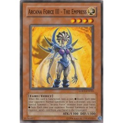 Arcana Force III - The Empress - LODT-EN010