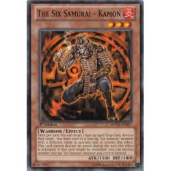 The Six Samurai - Kamon - GLD2-EN018