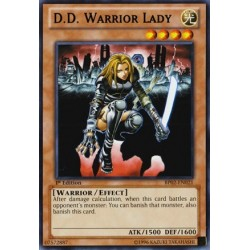 D.D. Warrior Lady - GLD1-EN015
