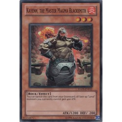 Kayenn, the Master Magma Blacksmith