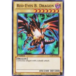 Red-Eyes B. Dragon - LCJW-EN003