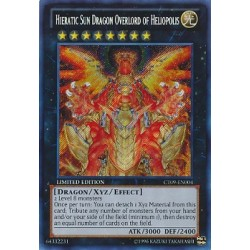 Hieratic Sun Dragon Overlord of Heliopolis  - CT09-EN004