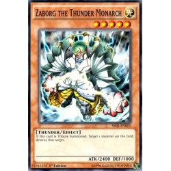 Zaborg the Thunder Monarch - SR01-EN005