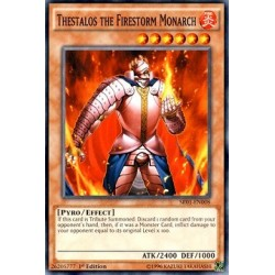 Thestalos the Firestorm Monarch - SR01-EN008
