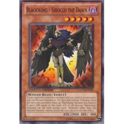 Blackwing - Sirocco the Dawn - GLD3-EN023