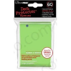 Sleeves Ultra Pro Small Size 60ct (green Lime)