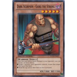 Dark Scorpion - Gorg the Strong - GLD5-EN011