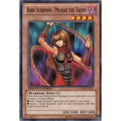 Dark Scorpion - Meanae the Thorn - GLD5-EN012