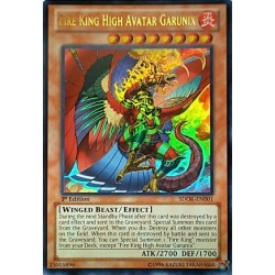 Fire King High Avatar Garunix - SDOK-EN001