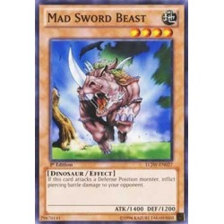 Mad Sword Beast - SD09-EN004