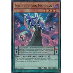 Purple Poison Magician - PEVO-EN006
