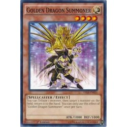 Golden Dragon Summoner - YS14-EN016