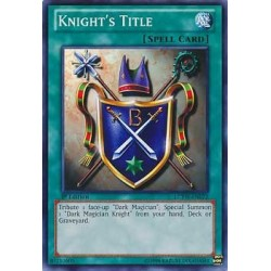 Knight's Title - ROD-EN002 - Secret Rare