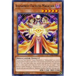 Illusionist Faceless Magician - LED2-EN002