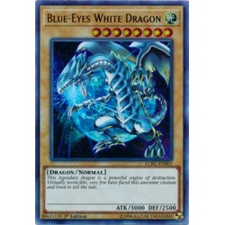 Blue-Eyes White Dragon - LCKC-EN001 (LOB)
