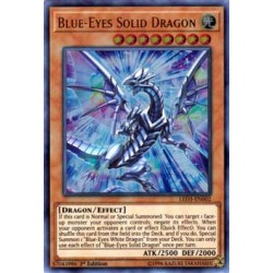 Blue-Eyes Solid Dragon - LED3-EN002
