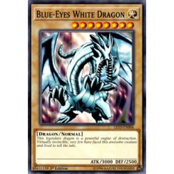Blue-Eyes White Dragon - LED3-EN006