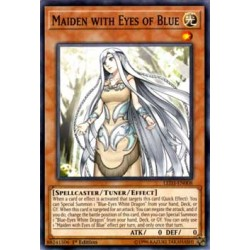 Maiden with Eyes of Blue - LED3-EN008