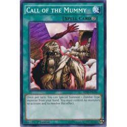 Call of the Mummy - DL17-EN015 - Blue