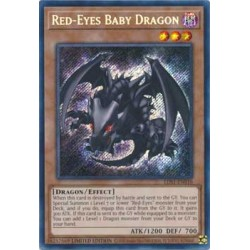 Red-Eyes Baby Dragon - LDS1-EN010