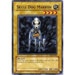 Skull Dog Marron - SOD-EN003